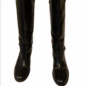 Aquatalia Italian Leather knee High Boots